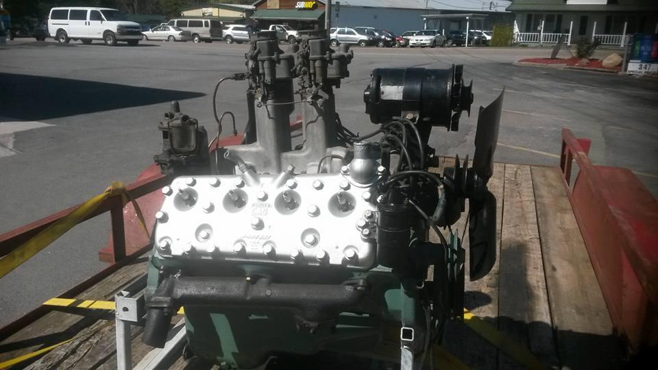 ford flathead engine paint