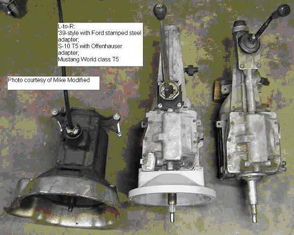 Flathead V8 to B/W T-5 Conversion - The Flat-Spot