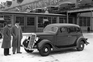 New Ford V-8 For 1935
