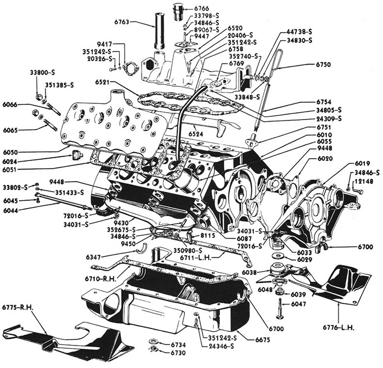 Spec History Of The Ford Flathead V8 1932 1953 The Flat Spot