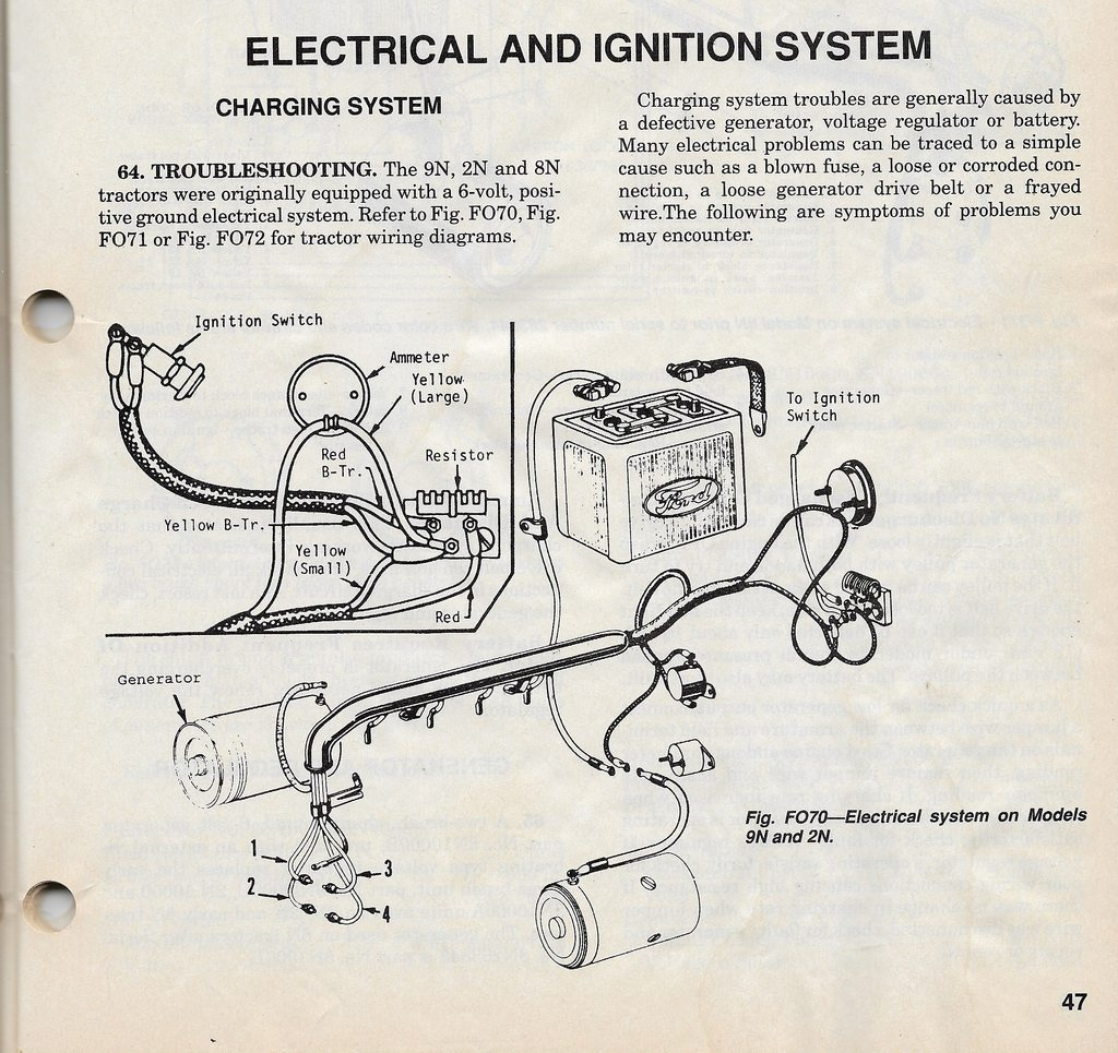 B.B. - 6 VOLT ELECTRICAL TIPS & TRICKS - The Flat-Spot | Ford Tractor 6 Volt Fuel Gauge Wiring Diagram |  | The Flat-Spot